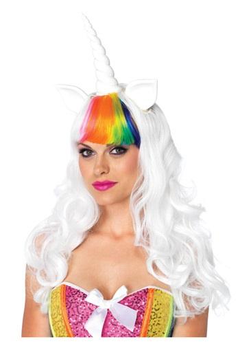 ユニコーン ウィッグ and Tail ハロウィン コスプレ 衣装 仮装 小道具 おもしろい イベント パーティ ハロウィーン 学芸会