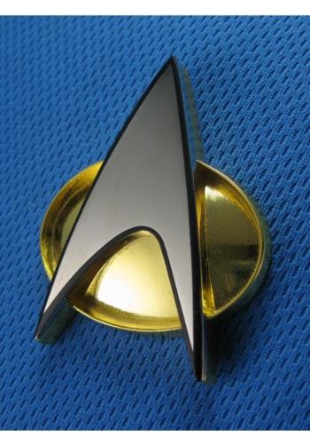 Star Trek The Next Generation Replica Communicator Badge クリスマス ハロウィン コスプレ 衣装 仮装 小道具 おもしろい イベント パーティ ハロウィーン 学芸会
