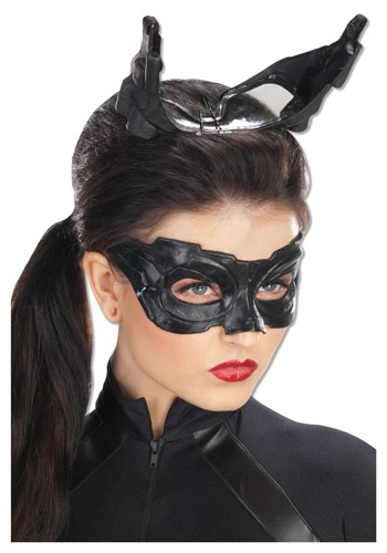 デラックス Catwoman マスク クリスマス ハロウィン コスプレ 衣装 仮装 小道具 おもしろい イベント パーティ ハロウィーン 学芸会