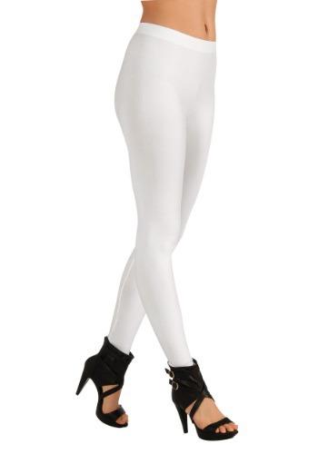 Women's ホワイト Leggings クリスマス ハロウィン コスプレ 衣装 仮装 小道具 おもしろい イベント パーティ ハロウィーン 学芸会