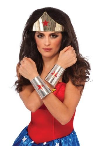 デラックス Wonder Woman アクセサリー Kit ハロウィン コスプレ 衣装 仮装 小道具 おもしろい イベント パーティ ハロウィーン 学芸会