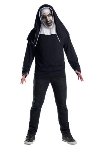 The Nun マスク for an 大人用 ハロウィン コスプレ 衣装 仮装 小道具 おもしろい イベント パーティ ハロウィーン 学芸会
