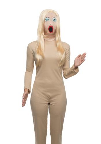 大人用 Fabric セクシー Doll マスク クリスマス ハロウィン コスプレ 衣装 仮装 小道具 おもしろい イベント パーティ ハロウィーン 学芸会