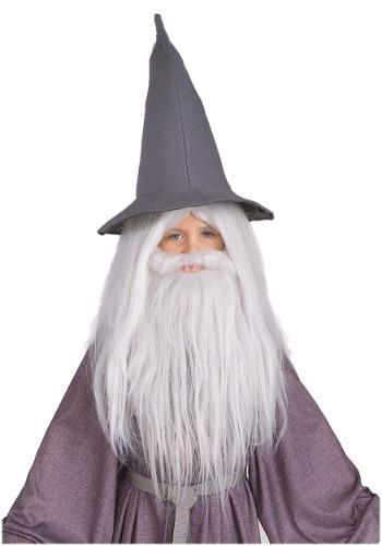 キッズ Gandalf Beard and ウィッグ Set クリスマス ハロウィン コスプレ 衣装 仮装 小道具 おもしろい イベント パーティ ハロウィーン 学芸会