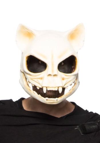 Cat Skull 大人用 マスク クリスマス ハロウィン コスプレ 衣装 仮装 小道具 おもしろい イベント パーティ ハロウィーン 学芸会