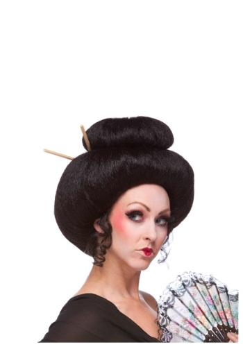 デラックス Japanese Beauty ウィッグ ハロウィン コスプレ 衣装 仮装 小道具 おもしろい イベント パーティ ハロウィーン 学芸会