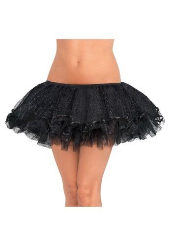 Women's ブラック Shimmer 大きいサイズ Tutu クリスマス ハロウィン コスプレ 衣装 仮装 小道具 おもしろい イベント パーティ ハロウィーン 学芸会