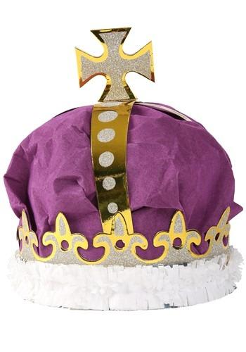 デラックス Purple Crown クリスマス ハロウィン コスプレ 衣装 仮装 小道具 おもしろい イベント パーティ ハロウィーン 学芸会