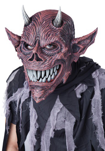 D邪悪な Ani-Motion マスク クリスマス ハロウィン コスプレ 衣装 仮装 小道具 おもしろい イベント パーティ ハロウィーン 学芸会