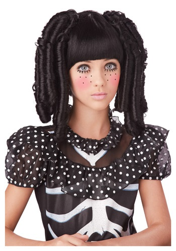 赤ちゃん 新生児 Doll Curls ハロウィン コスプレ 衣装 仮装 小道具 おもしろい イベント パーティ ハロウィーン 学芸会