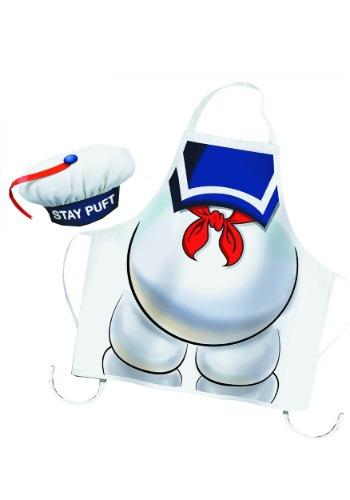 ゴーストバスターズ Stay Puft Apron and Chef 帽子 ハット Set ハロウィン コスプレ 衣装 仮装 小道具 おもしろい イベント パーティ ハロウィーン 学芸会