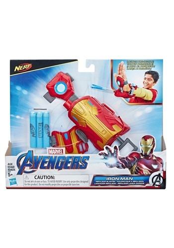 アベンジャーズ Iron Man Blast Repulsor Gauntlet with Nerf Darts ハロウィン コスプレ 衣装 仮装 小道具 おもしろい イベント パーティ ハロウィーン 学芸会