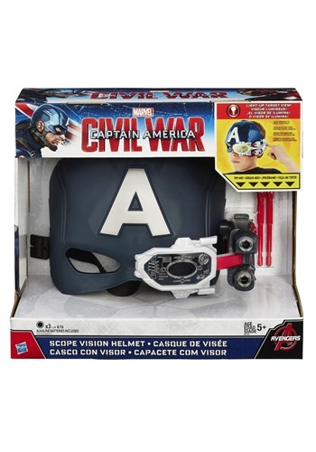 Captain America アベンジャーズ: Endgame Scope Vision Helmet ハロウィン コスプレ 衣装 仮装 小道具 おもしろい イベント パーティ ハロウィーン 学芸会