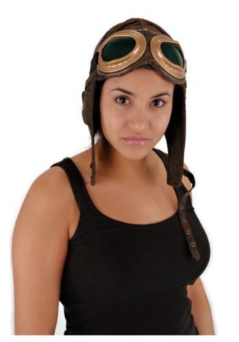 Aviator Brown 帽子 ハット クリスマス ハロウィン コスプレ 衣装 仮装 小道具 おもしろい イベント パーティ ハロウィーン 学芸会
