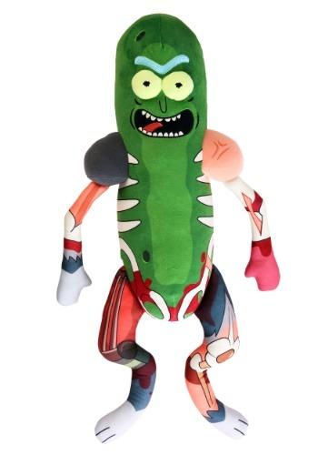 Rick & Morty Galactic Plushies Pickle Rick in Rat Suit ハロウィン コスプレ 衣装 仮装 小道具 おもしろい イベント パーティ ハロウィーン 学芸会
