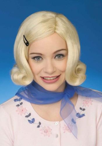 Womens 1950年代 Bopper Blond ウィッグ ハロウィン コスプレ 衣装 仮装 小道具 おもしろい イベント パーティ ハロウィーン 学芸会