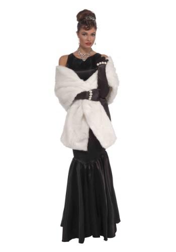 Vintage Hollywood Faux Mink Stole ハロウィン コスプレ 衣装 仮装 小道具 おもしろい イベント パーティ ハロウィーン 学芸会