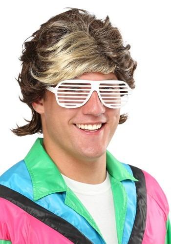 1980年代 Highlight Men's ウィッグ クリスマス ハロウィン コスプレ 衣装 仮装 小道具 おもしろい イベント パーティ ハロウィーン 学芸会
