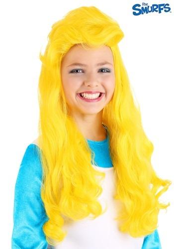 The Smurfs 女の子s Smurfette ウィッグ クリスマス ハロウィン コスプレ 衣装 仮装 小道具 おもしろい イベント パーティ ハロウィーン 学芸会