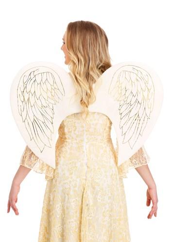 大人用 Gold Print Angel 羽 クリスマス ハロウィン コスプレ 衣装 仮装 小道具 おもしろい イベント パーティ ハロウィーン 学芸会