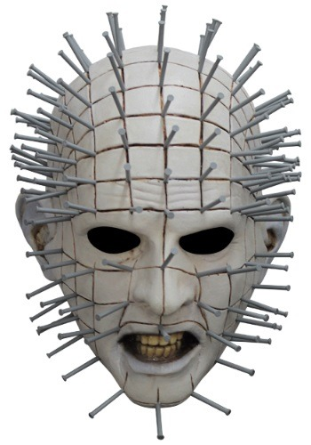 大人用 Hellraiser Pinhead マスク ハロウィン コスプレ 衣装 仮装 小道具 おもしろい イベント パーティ ハロウィーン 学芸会