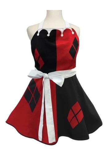 大人用 Harley Quinn Fashion Apron クリスマス ハロウィン コスプレ 衣装 仮装 小道具 おもしろい イベント パーティ ハロウィーン 学芸会
