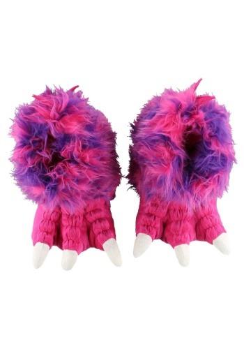 Pink Monster Paw Slippers for 大人用s クリスマス ハロウィン コスプレ 衣装 仮装 小道具 おもしろい イベント パーティ ハロウィーン 学芸会