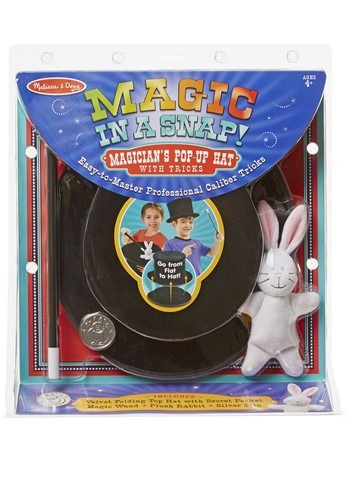 Melissa & Doug Pop Up Magic 帽子 ハット (w/tricks) ハロウィン コスプレ 衣装 仮装 小道具 おもしろい イベント パーティ ハロウィーン 学芸会