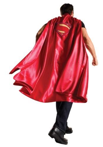 Dawn of Justice 大人用 デラックス スーパーマン マント ケープ ハロウィン コスプレ 衣装 仮装 小道具 おもしろい イベント パーティ ハロウィーン 学芸会