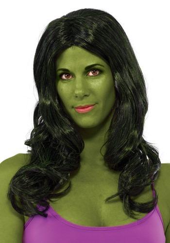 She Hulk ウィッグ ハロウィン コスプレ 衣装 仮装 小道具 おもしろい イベント パーティ ハロウィーン 学芸会