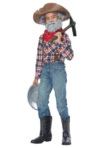Boy's Prospector コスチューム Kit クリスマス ハロウィン コスプレ 衣装 仮装 小道具 おもしろい イベント パーティ ハロウィーン 学芸会