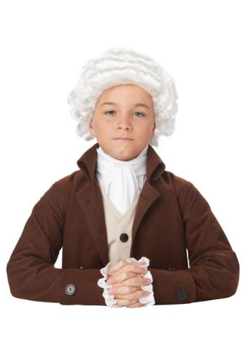 チャイルド Colonial Man ウィッグ クリスマス ハロウィン コスプレ 衣装 仮装 小道具 おもしろい イベント パーティ ハロウィーン 学芸会