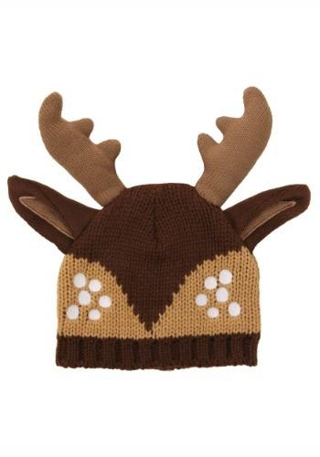 Deer Knit Stocking Cap クリスマス ハロウィン コスプレ 衣装 仮装 小道具 おもしろい イベント パーティ ハロウィーン 学芸会
