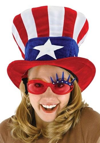 Uncle Sam 帽子 ハット クリスマス ハロウィン コスプレ 衣装 仮装 小道具 おもしろい イベント パーティ ハロウィーン 学芸会