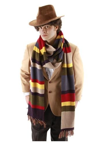 Fourth Doctor Who Long Scarf ハロウィン コスプレ 衣装 仮装 小道具 おもしろい イベント パーティ ハロウィーン 学芸会