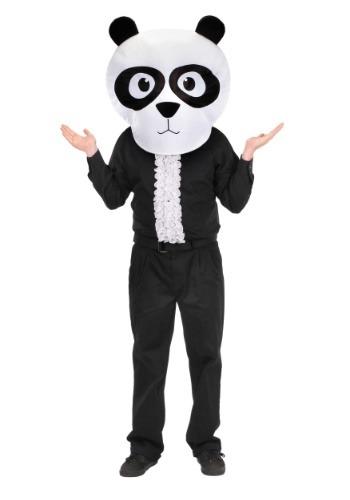MASKOT Head Panda ハロウィン コスプレ 衣装 仮装 小道具 おもしろい イベント パーティ ハロウィーン 学芸会