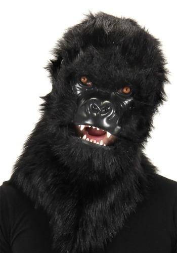 Gorilla Mouth Mover マスク ハロウィン コスプレ 衣装 仮装 小道具 おもしろい イベント パーティ ハロウィーン 学芸会