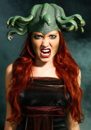 Medusa Headpiece ハロウィン コスプレ 衣装 仮装 小道具 おもしろい イベント パーティ ハロウィーン 学芸会