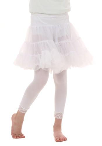 チャイルド ホワイト Knee Length Crinoline クリスマス ハロウィン コスプレ 衣装 仮装 小道具 おもしろい イベント パーティ ハロウィーン 学芸会