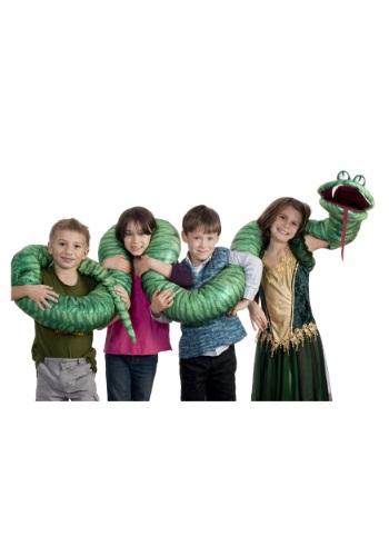 Big Green Snake Arm Puppet ハロウィン コスプレ 衣装 仮装 小道具 おもしろい イベント パーティ ハロウィーン 学芸会