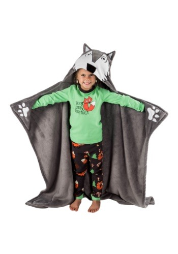 Lazy One Wolf Critter キッズ Blanket ハロウィン コスプレ 衣装 仮装 小道具 おもしろい イベント パーティ ハロウィーン 学芸会