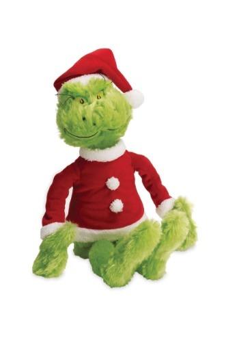 "The Grinch in Santa Suit 15\"" Plush ハロウィン コスプレ 衣装 仮装 小道具 おもしろい イベント パーティ ハロウィーン 学芸会"