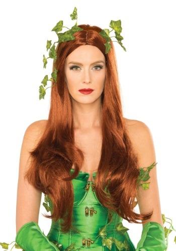 Women's デラックス Poison Ivy ウィッグ ハロウィン コスプレ 衣装 仮装 小道具 おもしろい イベント パーティ ハロウィーン 学芸会