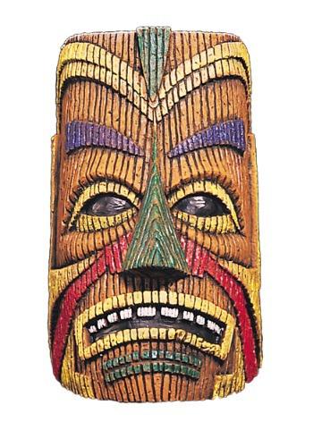 大人用 Polynesian Overhead Tiki Latex マスク ハロウィン コスプレ 衣装 仮装 小道具 おもしろい イベント パーティ ハロウィーン 学芸会