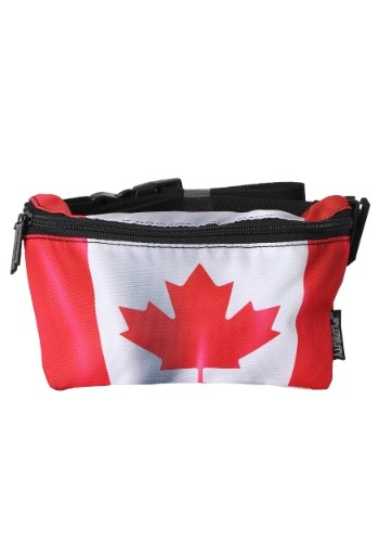 Canada Flag Fanny Pack Fydelity クリスマス ハロウィン コスプレ 衣装 仮装 小道具 おもしろい イベント パーティ ハロウィーン 学芸会