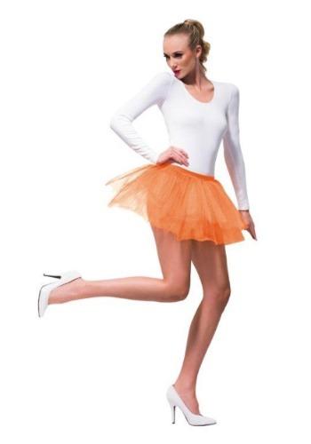 Women's Orange Tutu クリスマス ハロウィン コスプレ 衣装 仮装 小道具 おもしろい イベント パーティ ハロウィーン 学芸会