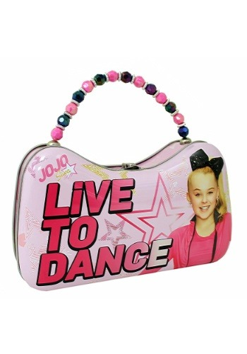 JoJo Siwa Live to Dance Scoop Tin Purse クリスマス ハロウィン コスプレ 衣装 仮装 小道具 おもしろい イベント パーティ ハロウィーン 学芸会
