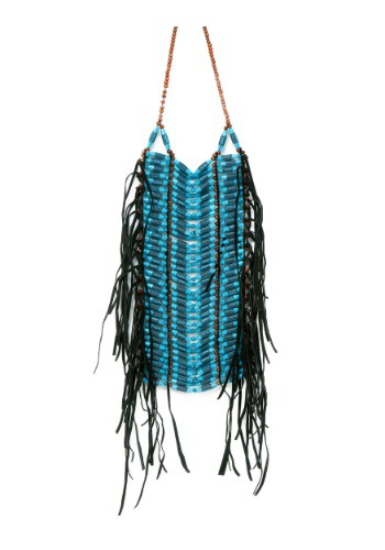 Native American Blue Beaded Breastplate クリスマス ハロウィン コスプレ 衣装 仮装 小道具 おもしろい イベント パーティ ハロウィーン 学芸会