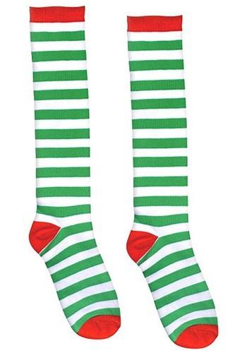 大人用 レッド and Green Striped Socks クリスマス ハロウィン コスプレ 衣装 仮装 小道具 おもしろい イベント パーティ ハロウィーン 学芸会