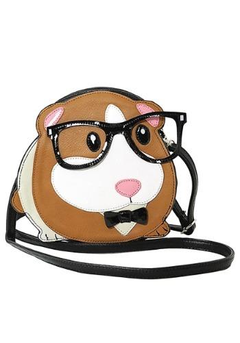 Nerdy Guinea Pig Crossbody Bag クリスマス ハロウィン コスプレ 衣装 仮装 小道具 おもしろい イベント パーティ ハロウィーン 学芸会